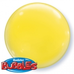 Bubble.solid color.yellow.38cm - 4pcs  - 21335