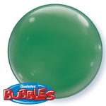 Bubble.solid color.green.38cm - 4pcs  - 21338