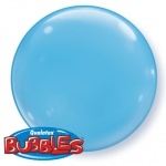 Bubble.solid color.pale blue.38cm - 4pcs  - 21341