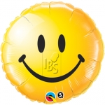 Smiley Face Yellow - 45cm - QU-29632