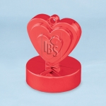 Ballongewicht.heart.red.110g - 12pcs  - 12475
