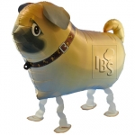 Walking Balloon .Pug - I-14434
