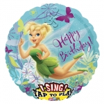 Singing balloon.Tinker Bell Birthday - 75cm - 23490