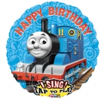 Singing balloon.Thomas Happy Birthday - 75cm - 23494