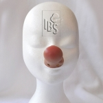 Clown nose.flesh.airbrushed tip - V - 4500061