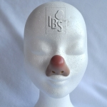 Clown nose.flesh.airbrushed tip - BC2 - 4500057