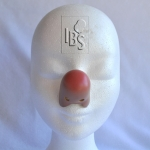 Clown nose.flesh.airbrushed tip - JB - 4500071