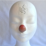Clown nose.flesh.airbrushed tip - LT1  - 4500065