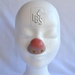 Clown nose.flesh.airbrushed tip - X - 4500062