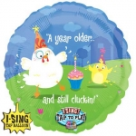 Singing balloon.Still Cluckin' Birthday - 71cm  - 16531