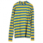 Clown Polo - blue,yellow - I-12105-BY