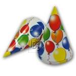 Party hats.Balloons - 6pcs - 520118405213