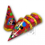 Party hats.Mickey - 6pcs - IB-5559