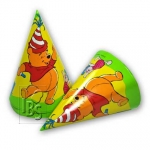 Party hats.Winnie - 6pcs - 520118407341