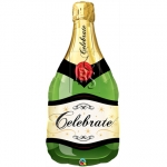 Celebrate Bubbly Winebottle - 100cm - 16122