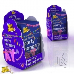Party hangers.startup kit - 120packs+display - 503256139233