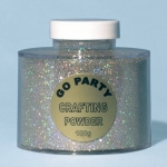 Glitter.holographic silver - 100gr - 82483