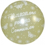 QU.36.Communion.papillons.pearl ivory  - IB-13834