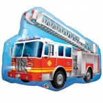 Red Fire Truck - 90cm - QU-16466