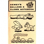 Dewey R.,Deweys Balloon & Clown Notebook   - 4200476