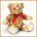 Bear.Traditional With Ribbon - 30cm - SB4394