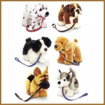 Dogs.Standing On Lead.6pcs - 30cm - SD4224-6