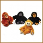 Mini Monkeys.14cm - 4pcs - ST2958-4