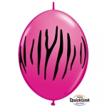 QL.12.Zebra Stripes Wild Berry - 50pcs  - 90559