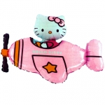 Hello Kitty Pink Airplane - 80cm - 11237