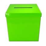 Wedding Gift Box.lime green - 25x25x25cm - I-11289