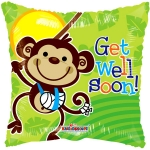 Get Well Monkey Gellibean - 45cm - 19575-18