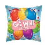 MICRO.Get Well Latex Balloons - 10cm  - 19487-04