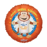 MINI.Get Well Soon Monkey - 23cm - 19150-09