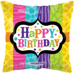 Animal Print Birthday Gellibean - 45cm - 19702-18