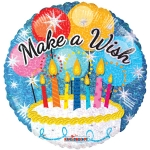 Make-A-Wish Cake Holgraphic - 45cm - 19538-18