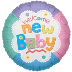 MICRO.Welcome New Baby Quilt - 10cm - 17510-04