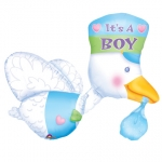 Bundle of Joy Stork - It's a Boy - 81cm - 07063