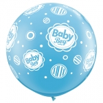 QU.36.Baby Boy Dots - 2pcs - 18509