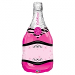 Celebrate Pink Bubble WIne - 100cm - 15844