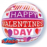 Single bubble.Valentine's Stripe Patterns - 55cm - 21890