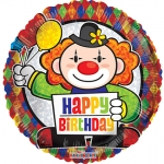 MINI.Prismatic Birthday Clown - 23cm - 19699-09