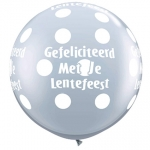 QU.36.lentefeest.big polka dots.diamond clear - 2pcs - IB-11939