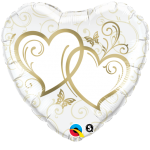 Entwined Hearts Gold - 45cm - 15668