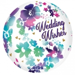 Orbz.Watercolor Wedding Wishes - 40cm - 30688