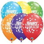 Party Pack.Birthday Confetti Dots - 6pcs  - 52975
