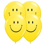 Party Pack.Smile Face.yellow - 6pcs - 43009