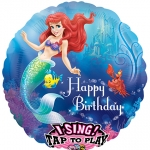 Singing balloon.Little Mermaid - 75cm - 27708