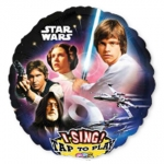 Singing balloon.Star Wars - 75cm - 31654
