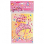 Invitation.Pretty Princess - 8pcs - UN25664