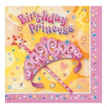 Napkins.Luncheon.Pretty Princess - 16pcs - UN25652